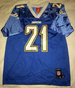 quality design f9892 3e512 Details about NFL AFC San Diego Chargers LaDainian Tomlinson #21 Reebok  Jersey Large (14-16)