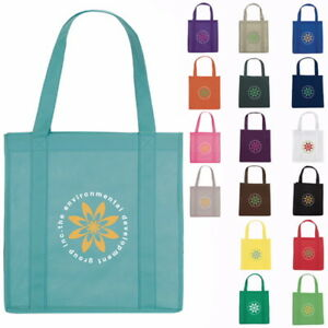 Personalized Reusable Grocery Tote Bags