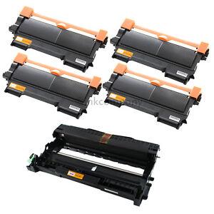 4-Toner-Trommel-fuer-Brother-TN2220-DR2200-HL2240-HL2250DN-MFC7360N-MFC7460DN