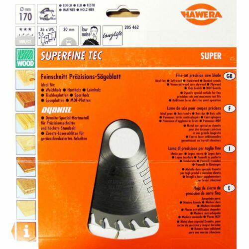 Kreissägeblatt für Hand Kreissäge Sägeblatt HW//CT longlife Hawera Super