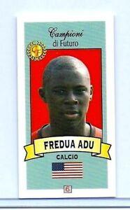 Raro-Freddy-Adu-2003-04-Campioni-Di-Futuro-034-1-Ever-Estampado-034-Carta-Rookie