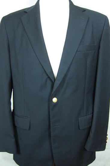 GORGEOUS Brooks Bredhers Brooksease Dark Navy bluee Blazer Sport Coat 41L