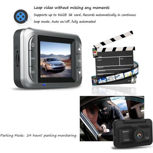 2018 NEW Car Camera Vehicle DVR HD 1080P Dash Cam Video Recorder Night Vision