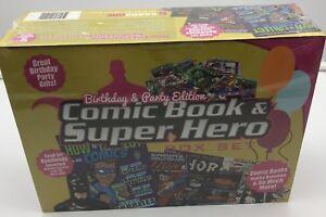 Comic-Book-amp-Superhero-Birthday-amp-Party-Edition-Cardsone-Collectors-Box-Set