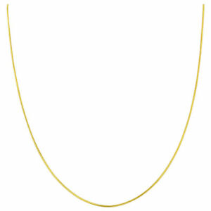 14k-Gold-over-925-Sterling-Silver-Vermeil-1mm-Snake-Chain-Necklace