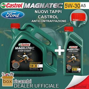 5-LITRI-OLIO-CASTROL-MAGNATEC-5W30-A5-FORD-WSS-M2C913-A-B-C-D