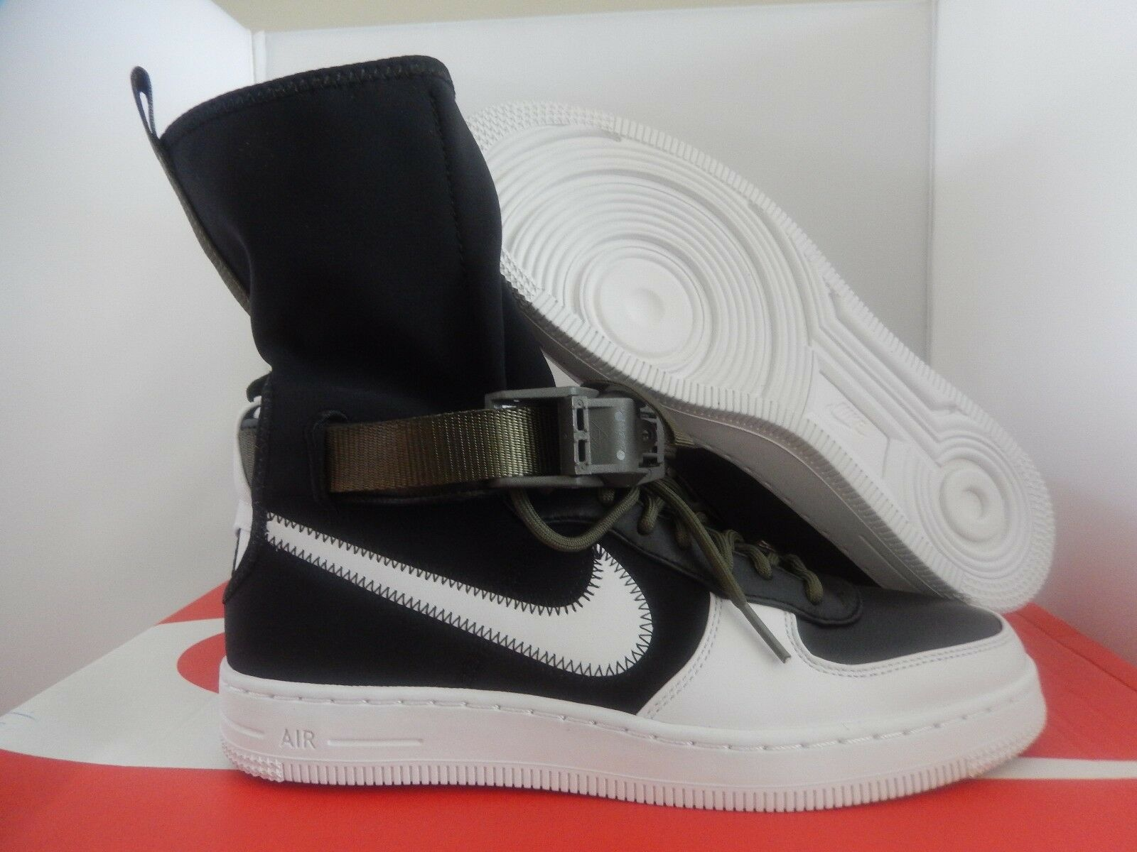 NIKE AIR FORCE 1 AF1 DOWNTOWN HI/SP ACRONYM SZ 14 RARE  [649941-001]