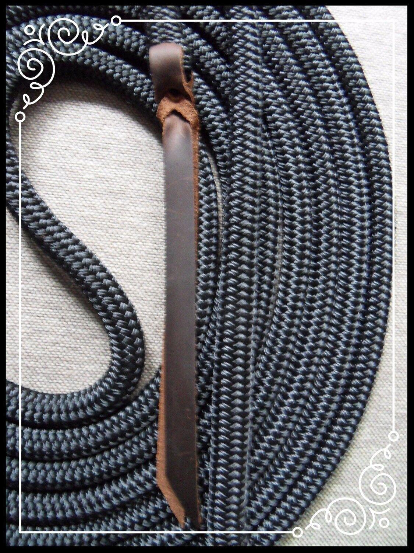 Natural Horsemanship 22ft Training Rope/Lead Parelli Clinton 12.7mm