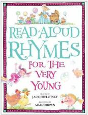 Read-Aloud Rhymes for the Very Young Jack Prelutsky~Marc Brown Hardcover