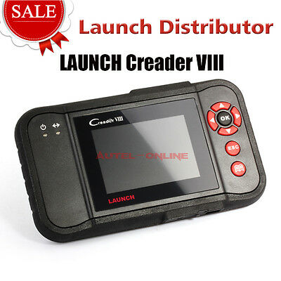 LAUNCH Creader VIII Code Reader Auto Diagnostic Scanner Tool ABS SRS Engine A/T