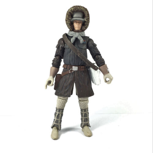 "Lot5x Star Wars LEGACY Han Solo Hoth Gear Recon Patrol 3.75/"" collect Figure doll"
