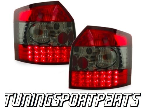 REAR RED-SMOKE TAIL LED LIGHT FOR AUDI A4 B6 8E 00-04 AVANT NEW LAMPS FANALE