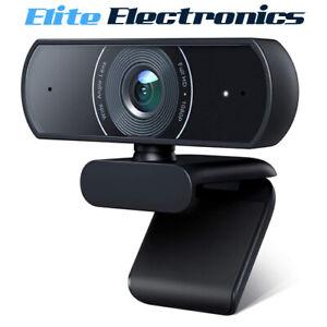 Victure SC30 1080P Webcam Dual Built-In Microphones Full HD Video Camera