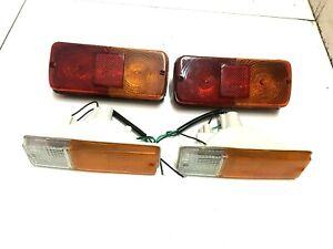 Massey-Ferguson-MF-200-300-374-375E-390E-394-Heck-und-Seitenblinkleuchte-Lig