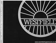 WESTFIELD SPORTS CARS FULL RANGE KIT CAR SALE BROCHURE FROM @ 2000's