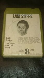 Vintage-8-Track-Cassette-Cartridge-Eight-labi-siffre-the-singer-and-the-song