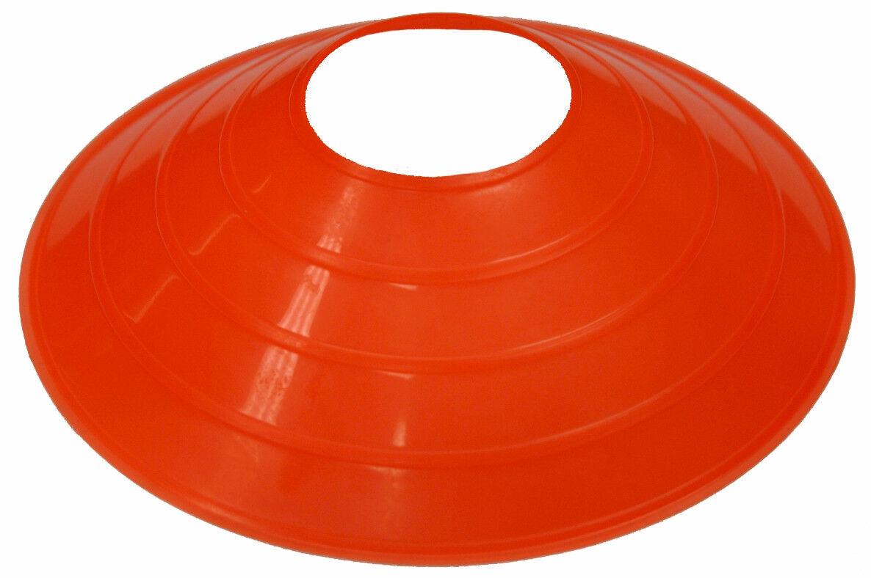 Perfil Bajo naranja Disco Conos (Lote De 100) Fútbol combinar deporte Futbol Campo