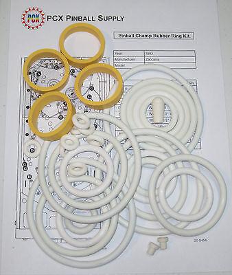1983 Zaccaria Pinball Champ Pinball Machine Rubber Ring Kit | eBay