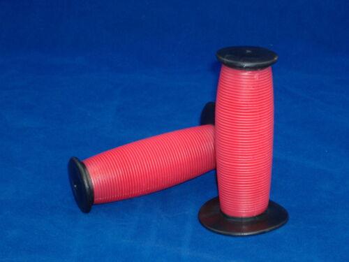 RED /& BLACK MUSHROOM BICYCLE HANDLEBAR GRIPS LOW RIDER BEACH CRUISER BIKE GRIPS