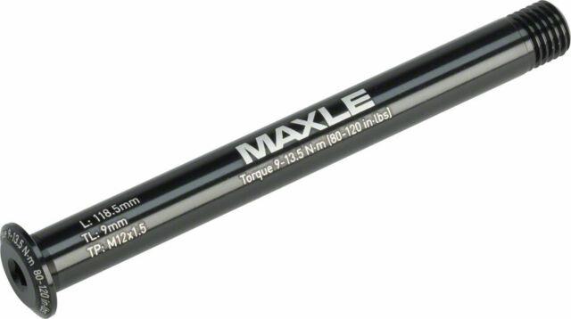 118.5mm Length 12x100 RockShox Maxle Stealth Front Thru Axle Road