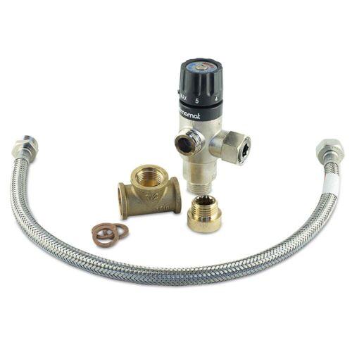 Albin Pump premium calentador de agua mezclador kit calentador de agua ducha cocina