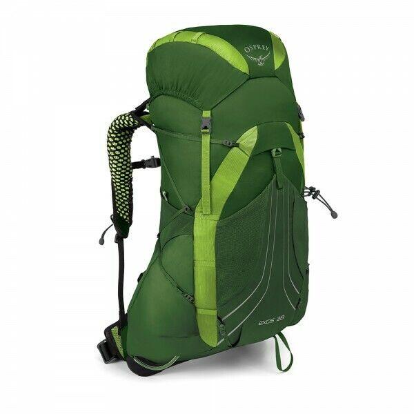 Zaino Trekking Escursionismo Outdoor OSPREY EXOS 38 litri col.Tunnel Green MD