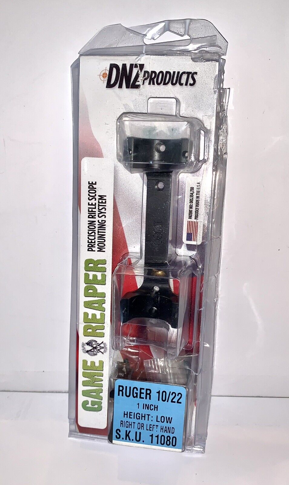 DNZ Game Reaper Scope Mount Ruger American Short Act High Black 12280 for sale online