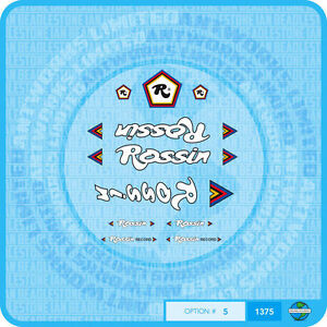 Rossin Record - Bicycle Decals Transfers Stickers - Set 5