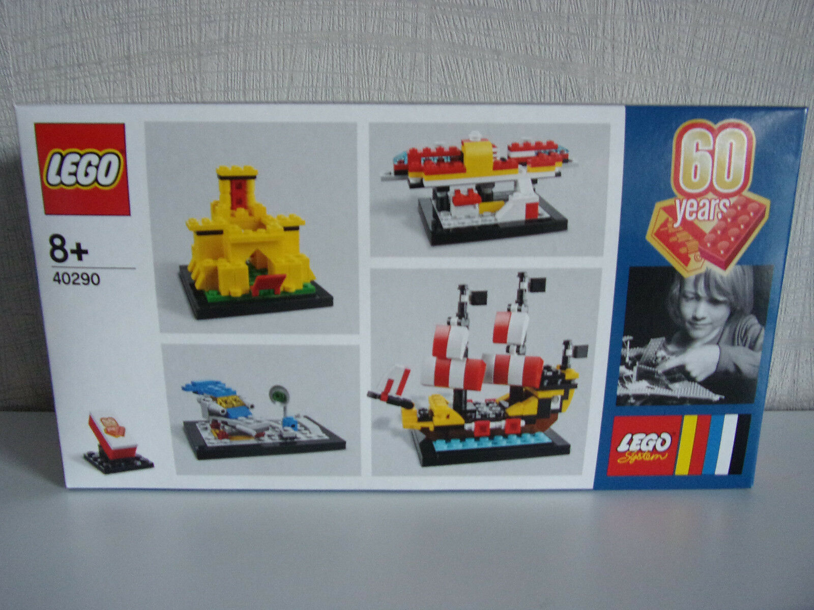 LEGO 40290 - 60 Jahre Years LEGO SET - NIP