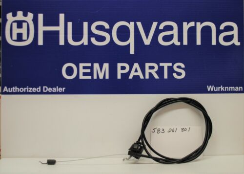 OEM Husqvarna 583261801 fits Craftsman  PUSH MOWER CONTROL CABLE 400292