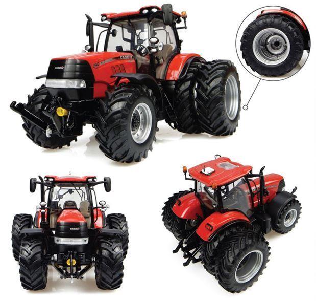 Case IH Puma 240 CVX (2016) Dual Wheels Tractor 1:32 Model 4933