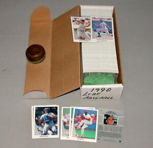 1990-Leaf-Near-Full-Baseball-Card-Set-of-528-Cards-Minus-Cards-464-513