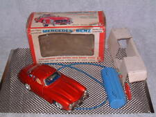 BANDAI TIN MERCEDES 300SL W/TETHERED REMOTE CONTROL & BOX! WORKS PERFECTLY!