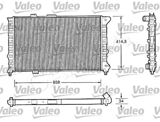 Van Wezel 01002075 Raffreddamento Motore
