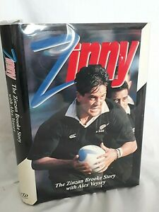 Zinny-The-Zinzan-Brooke-Story-SIGNED-COPY-First-Edition-NZ-All-Blacks