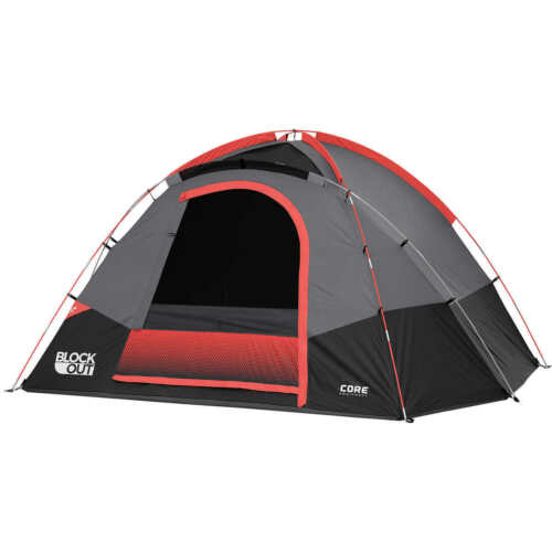 CORE 6 Person Tent With Block Out Technology