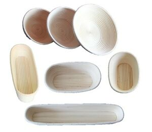 Round Oval Long Various Size Banneton Bread Dough Proofing Proving Rattan Basket