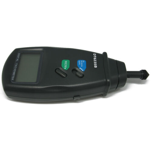 CONTACT TACHOMETER SURFACE SPEED METER 0.5 to 19,999RPM  r