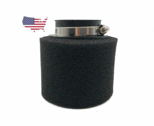 Black 38mm Foam High Performance Air Filter Straight Connection US seller