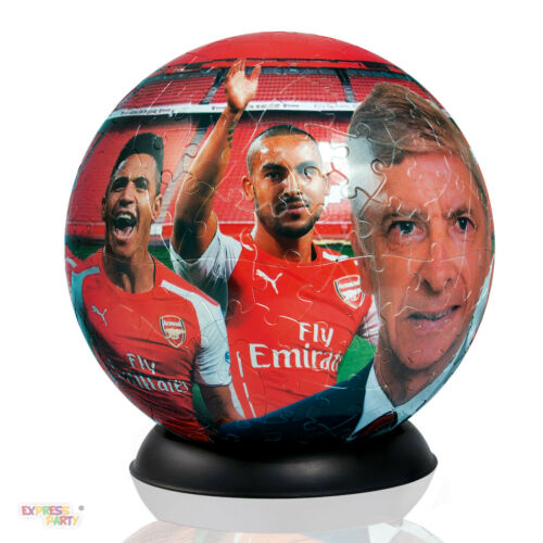 3D PUZZLE BALL ARSENAL PAUL LAMOND JIGSAW 240 PIECES