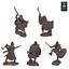 miniature 1 - Runecraft miniatures Toy Soldier Vikings 9th-11th siècles échelle 1/32 Set #4