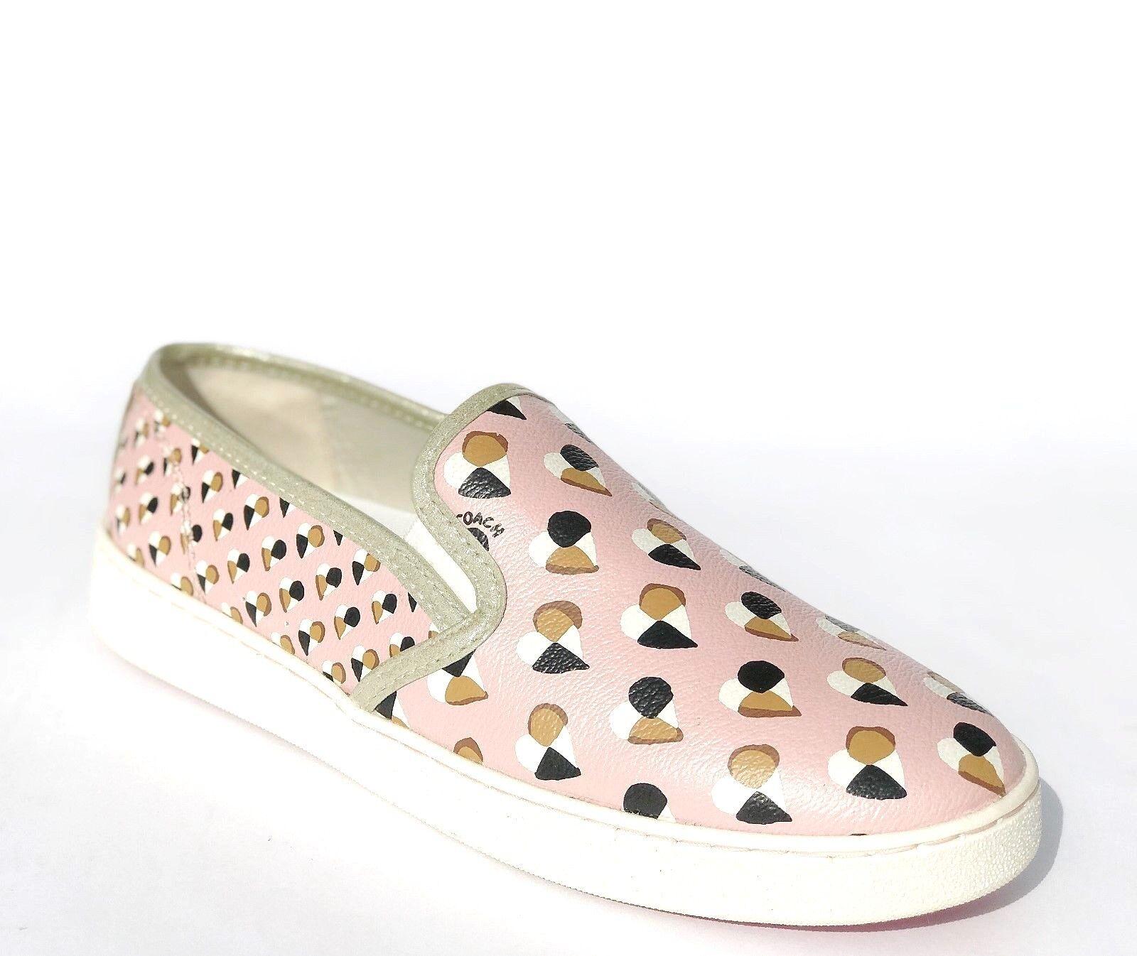 Entrenador De Mujer C117 Slip On Corazones Tenis Zapatos Rubor Rubor Rubor 6.5 Nuevo En Caja  grandes ofertas