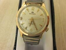 Vintage Self winding BELFORTE watch,Swiss Made,17 jewels,Gold filled Bezel,
