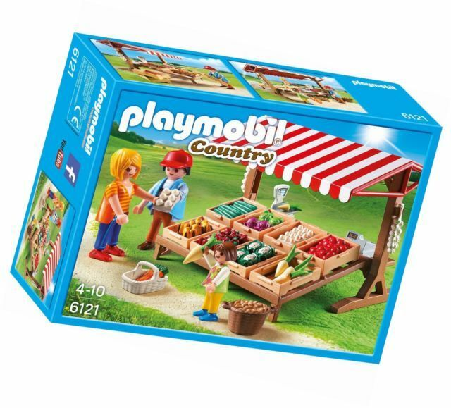 Playmobil Farmer's Market  A Selection of Vegetables  COUNTRY   6121 Sealed Nuovo