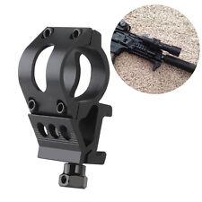 25mm LED Light Torch Mount Clamp Stand Holder Flashlight Offset Gun Bracket