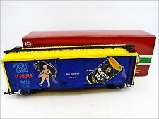 LGB 40916 Morton Salt Steel Boxcar When it Rains... pista G (45mm) 1:22,5 DC