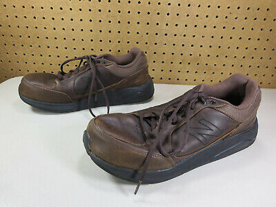 brown 928 leather walking shoes
