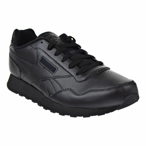 Men Reebok Classic Harman Run Leather CN0192 Black Black 100/%Authentic Brand New