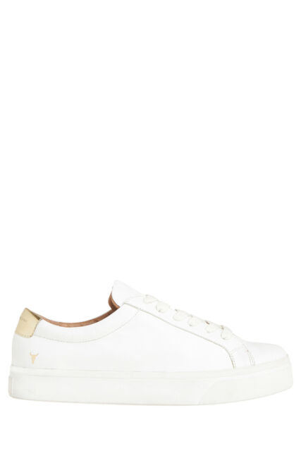 NEW Windsor Smith Sawyer White Sneaker