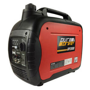DuraDrive DP2000 Ultra-Quiet Lightweight Gas-Powered Inverter Generator
